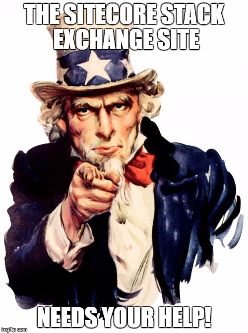 The Sitecore Stack Exchange Site Needs Your Help!