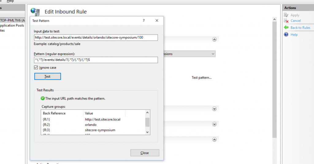 Iis Url Rewrite To Another Application